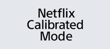 Logo režimu Netflix Calibrated Mode