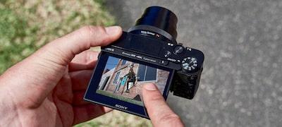 Dotykom ovládaná uzávierka na jednoduché snímanie