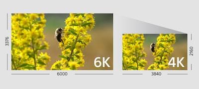 Nahrávanie videozáznamu vrozlíšení 4K