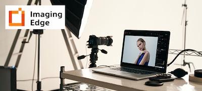 Aplikácie Remote, Viewer aEdit balíka aplikácií Imaging Edge