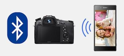 Prepojenie sinformáciami omieste cez Bluetooth