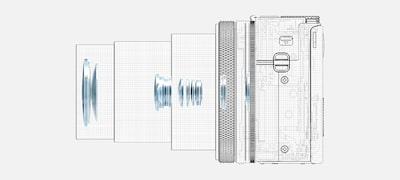 Vysoké rozlíšenie akompaktný optický dizajn