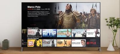 Prenášajte videozáznamy asledujte televíziu vrozlíšení 4K