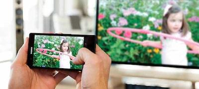 Zrkadlenie obrazovky na zdieľanie obsahu zo smartfónu