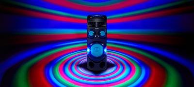 360° párty svetlo