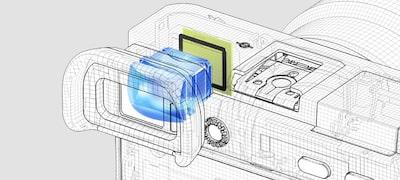 Hľadáčik XGA OLED Tru-Finder™