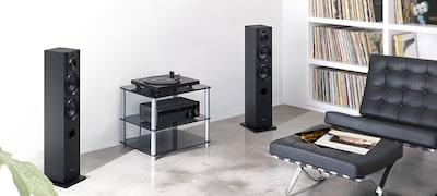 Zvukovo zladené sgramofónmi PS-HX500 aPS-LX300USB