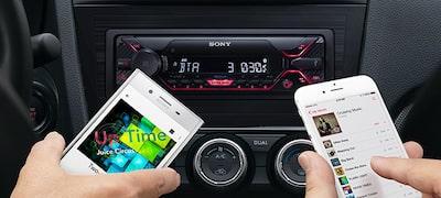 Pripojenie dvoch smartfónov pomocou režimu Dual Bluetooth®